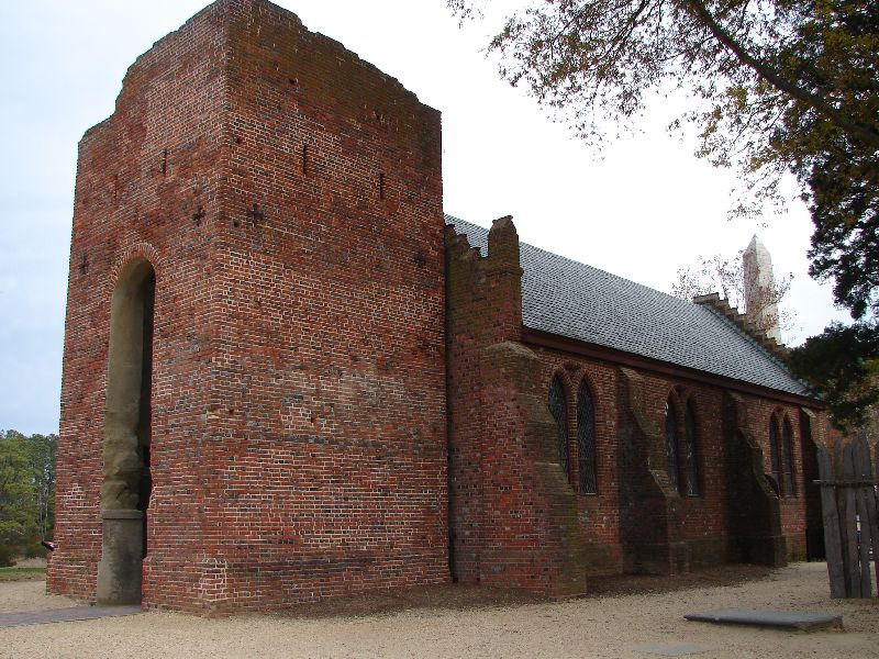 Day 89 - Jamestown, Memorial Church