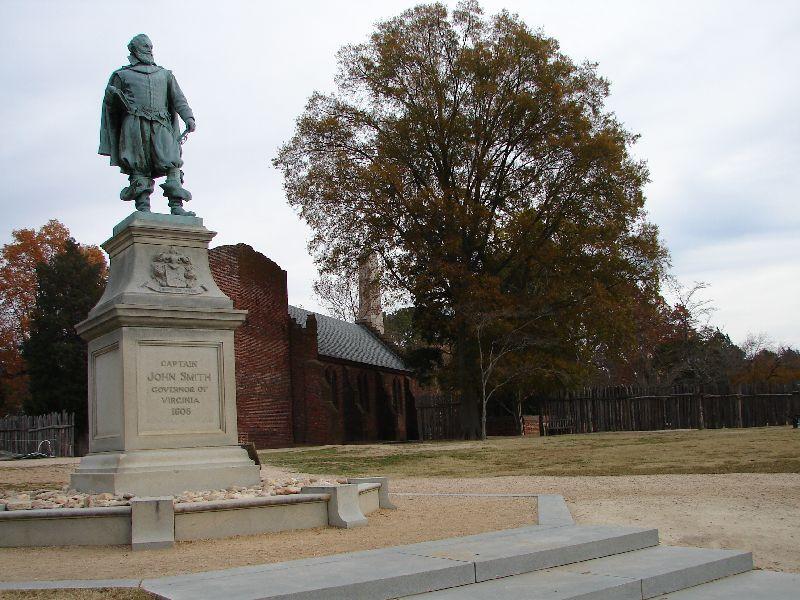 Day 89 - Jamestown, Captain Smith Statue