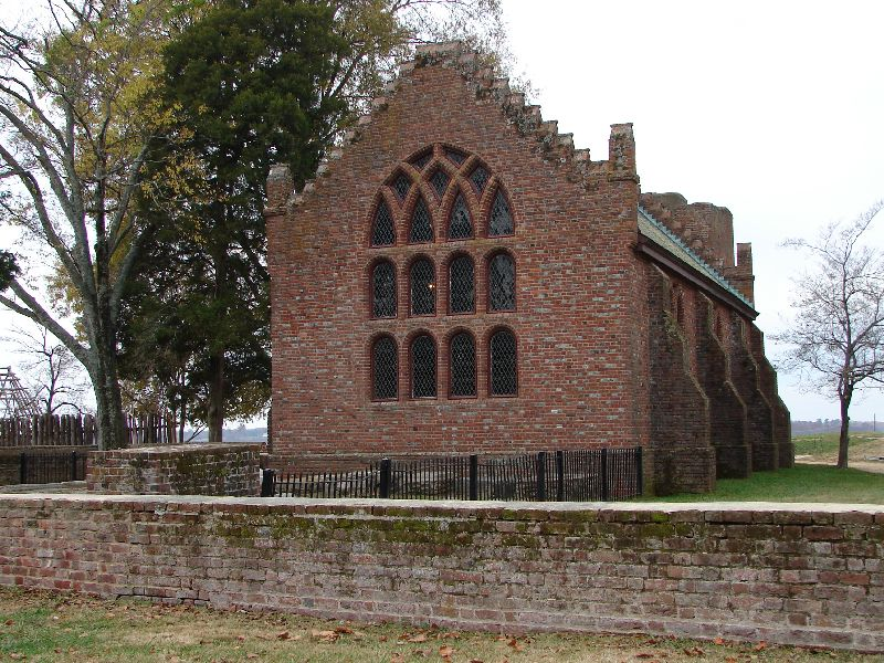 Day 89 - Jamestown, Memorial Church Back