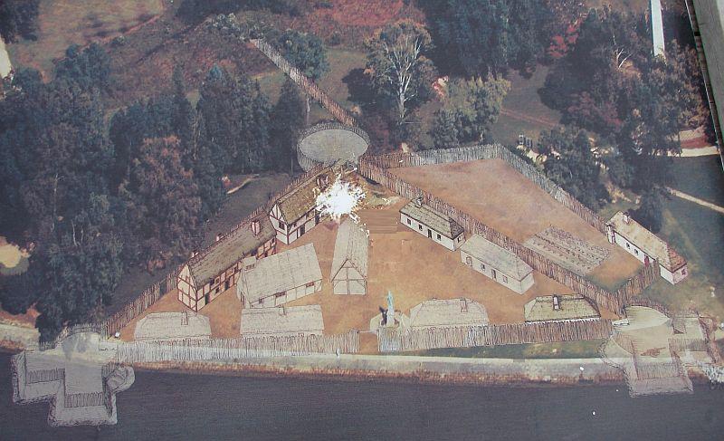 Day 89 - Jamestown, Fort Photo