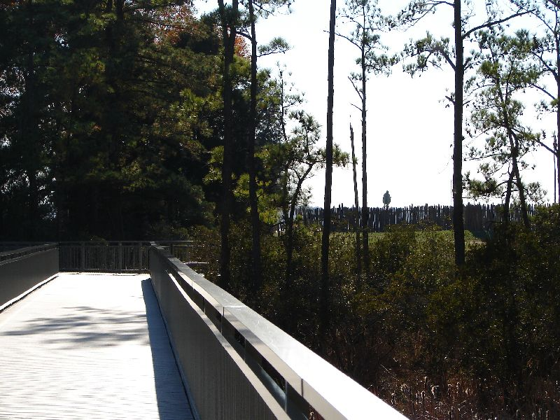 Day 89 - Jamestown, Swamp Bridge