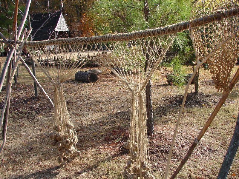 Day 91 - Jamestown Stlmt, Fishing Nets