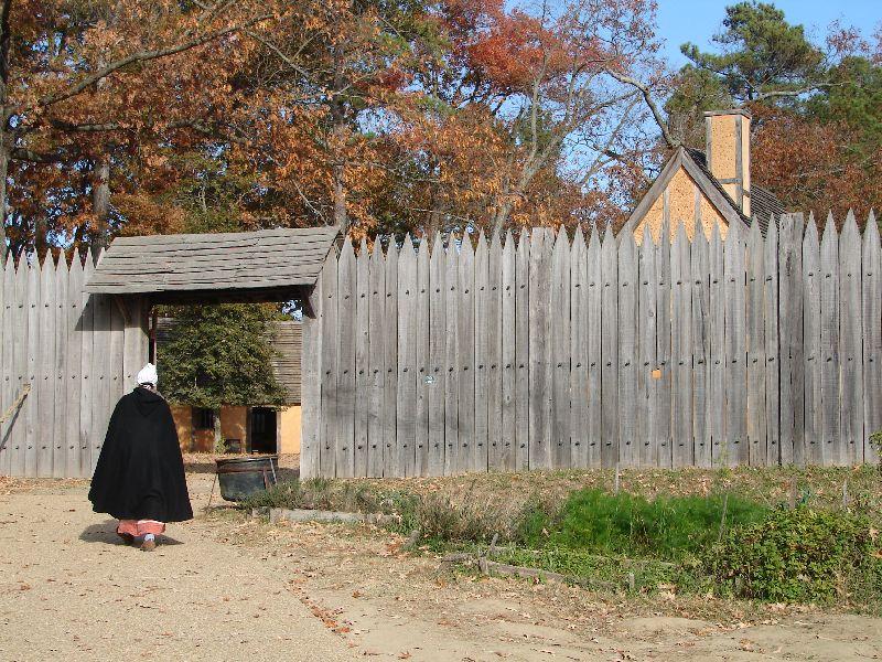 Day 91 - Jamestown Stlmt, Fort Gate