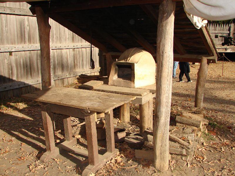 Day 91 - Jamestown Stlmt, Fort Oven