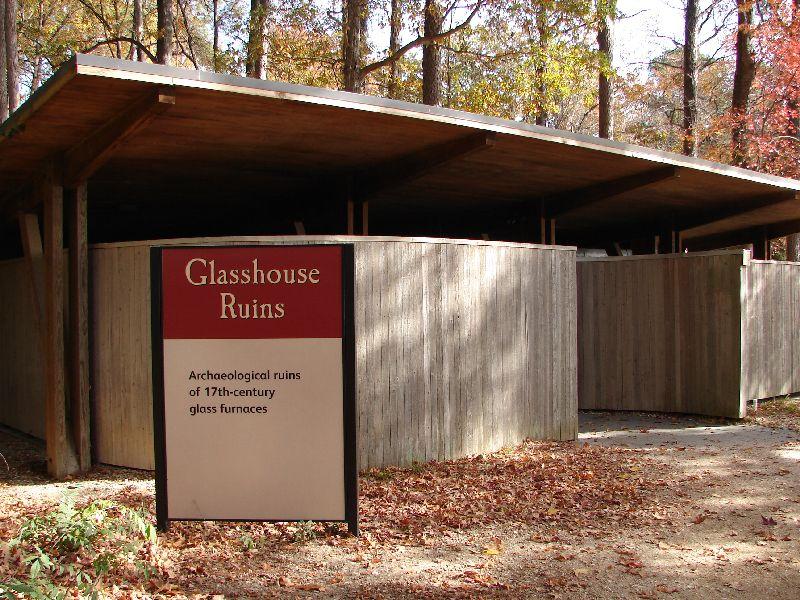 Day 91 - Jamestown, Glass Furnace Ruins Enclosure