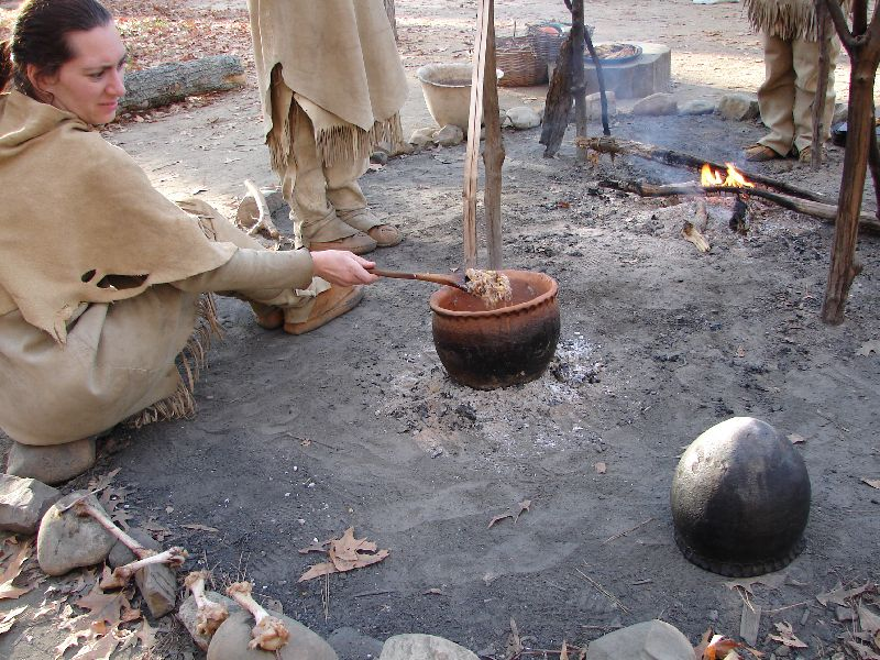 Day 91 - Jamestown Stlmt, Powhatan Stew