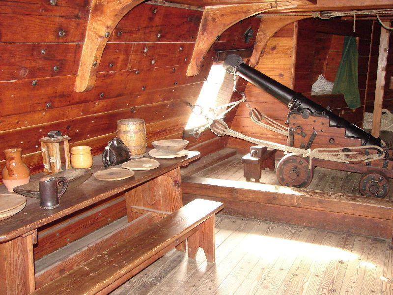 Day 91 - Jamestown Ships, Susan Constant Cabin
