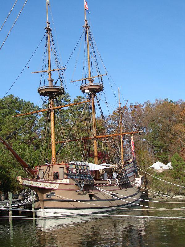 Day 91 - Jamestown Stlmt, Susan Constant