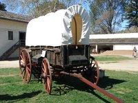 Day 185 - Sutters Fort, Farm Wagon