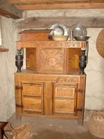 Day 56 - Plimoth Plantation, English Cabinet