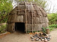 Day 56 - Plimoth Plantation - Wampanoag, House