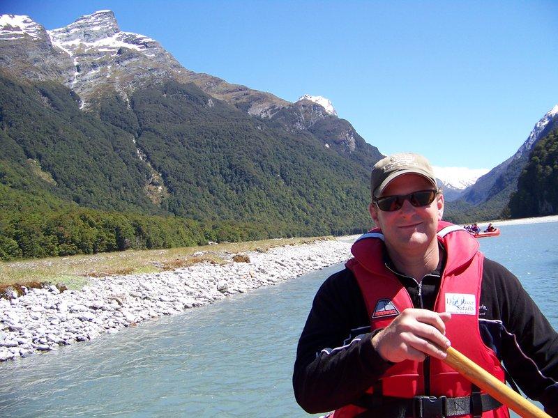 Jeffrey on Dart River