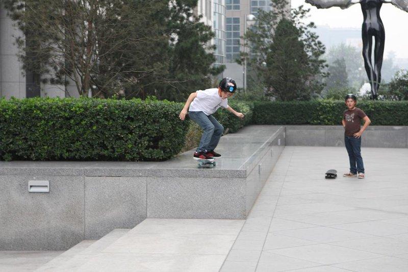 Boys Skate the Hotel