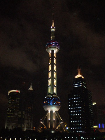 Shanghai's Oriental Pearl Tower
