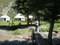 Kazakh yurts