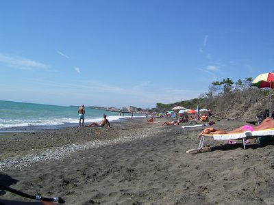Cecina Beach, Tuscany, Italy