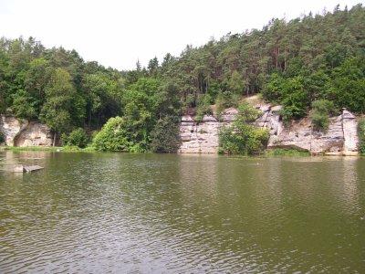 Lake near Melnik, Czech Rep