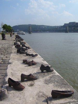 River memourial, Budapest