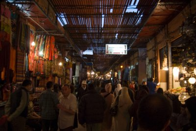 Souq in Marrakesh