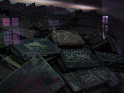 Suitcases, Auschwitz