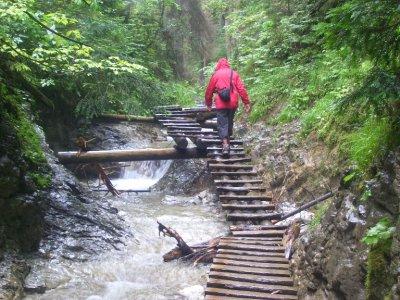 the Slovensky Raj, river walk!