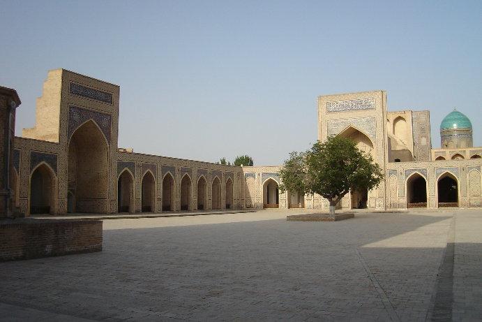 Courtyard of Kalon Mosque