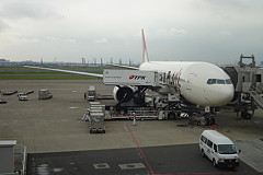 JAL B777-200 to Osaka Itami Airport