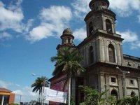 Managua - vana katedraal