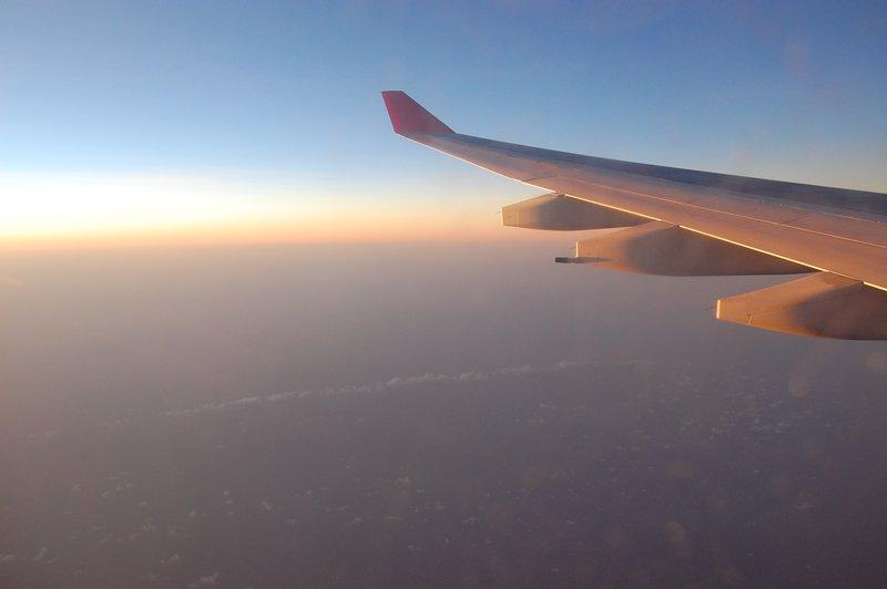 Flight Back to BKK