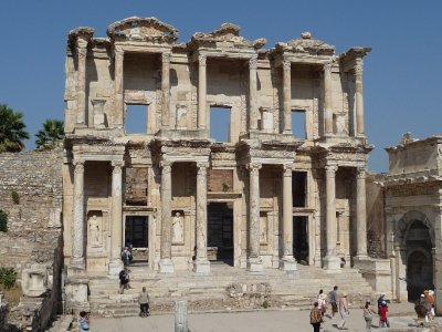 The Library of Celsius at Ephesus
