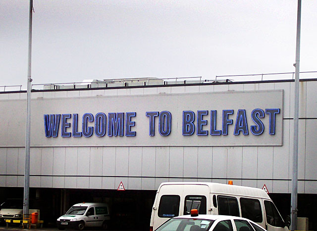 belfast airport welcome