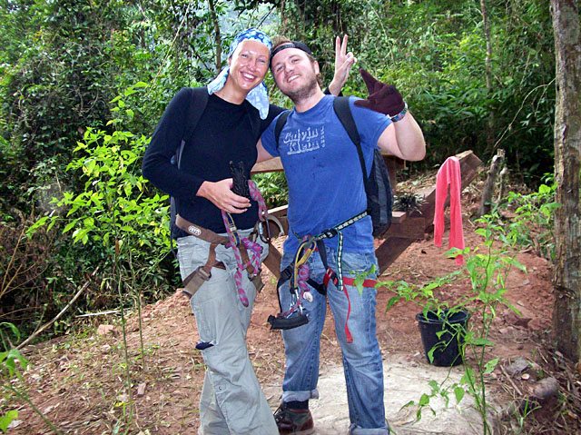 bokeo- steve and sarah fully tooled up