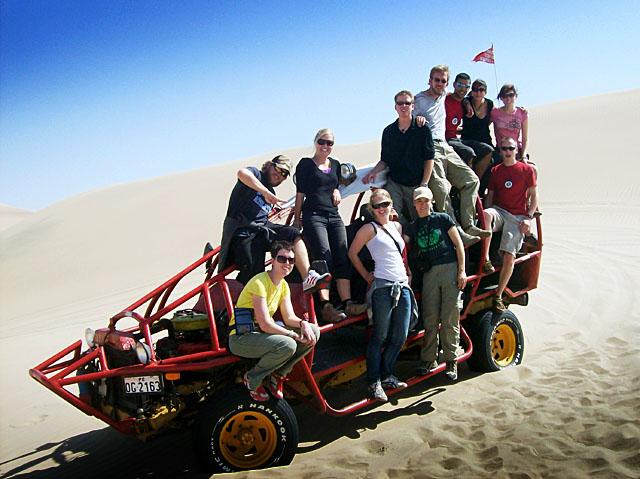 Ica desert buggy team