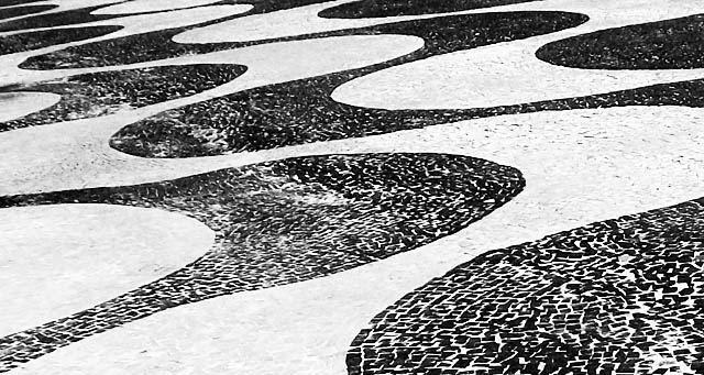 copacabana pavement pattern
