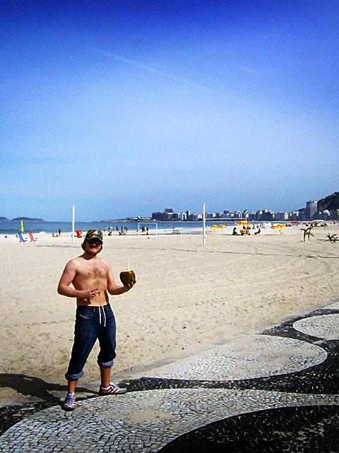steve on copacabana