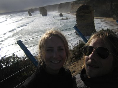 Waiting for sunset at 12 Apostles