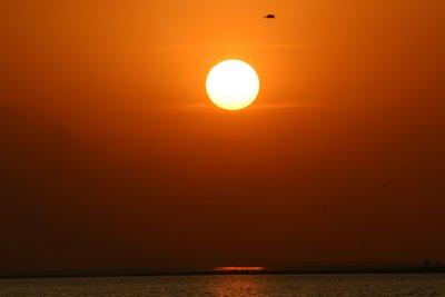 Sunset on Lake Debo