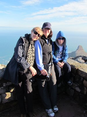 Celina Melinda & Josh on Table Mountain