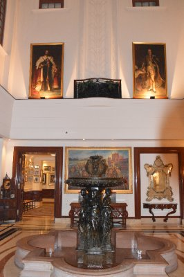 Lobby in the Imperial Hotel
