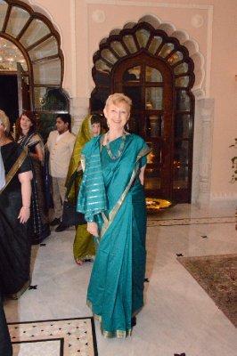Celina as Indian Model