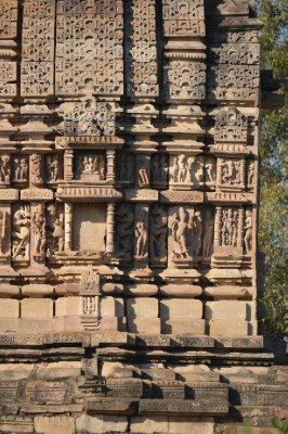 Temple Decoration Khajaraho India