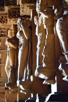 Temple Figures Khajaraho