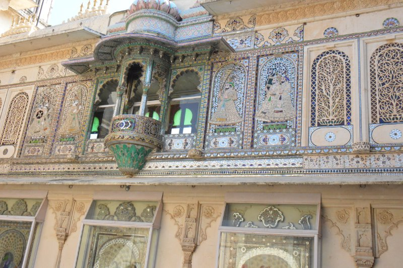 Peacock Court City Palace Udaipur