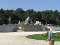 Neptune Fountain Schonbrunn Palace