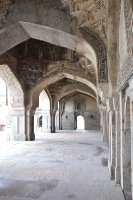 Detail of ancient mosque in Delhi