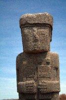 Monolithic Stautue Tiwanuku