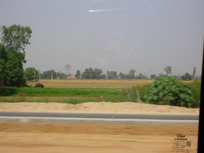 On the way to Amritsar