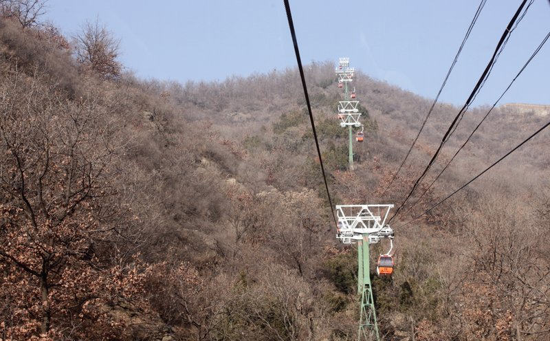 Cable cars to the great wall