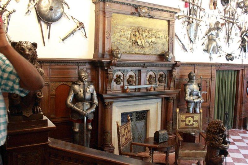 German Nobles only execution sword - Museum inside Peles Castle