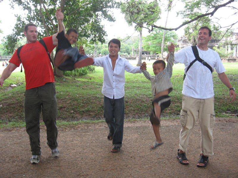 The boys of Angkor Wat
